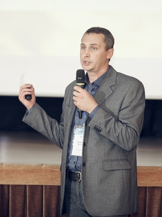 Технический директор компании АдептИС Е.А. Белимов на конференции Seymartec DigitalAgro